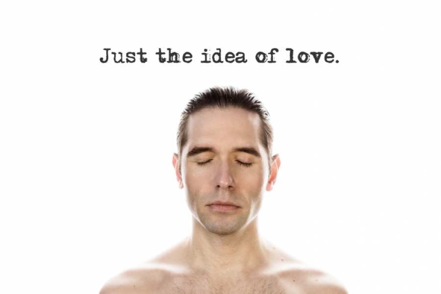 Vernissage: Just the idea of love.